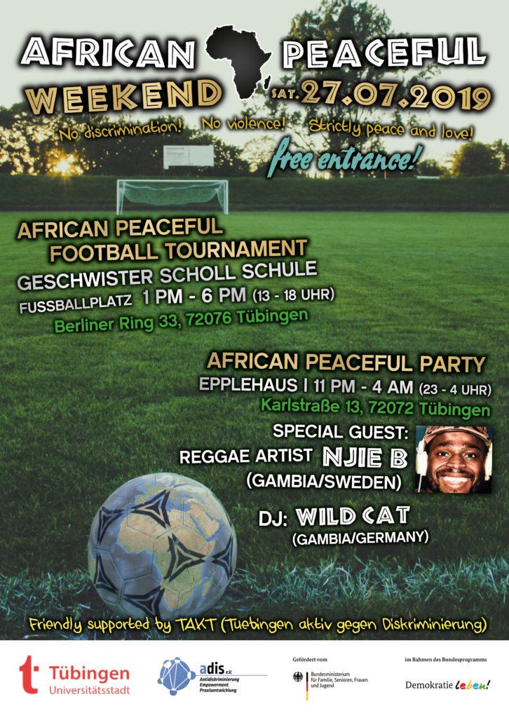 AFRICAN PEACEFUL WEEKEND