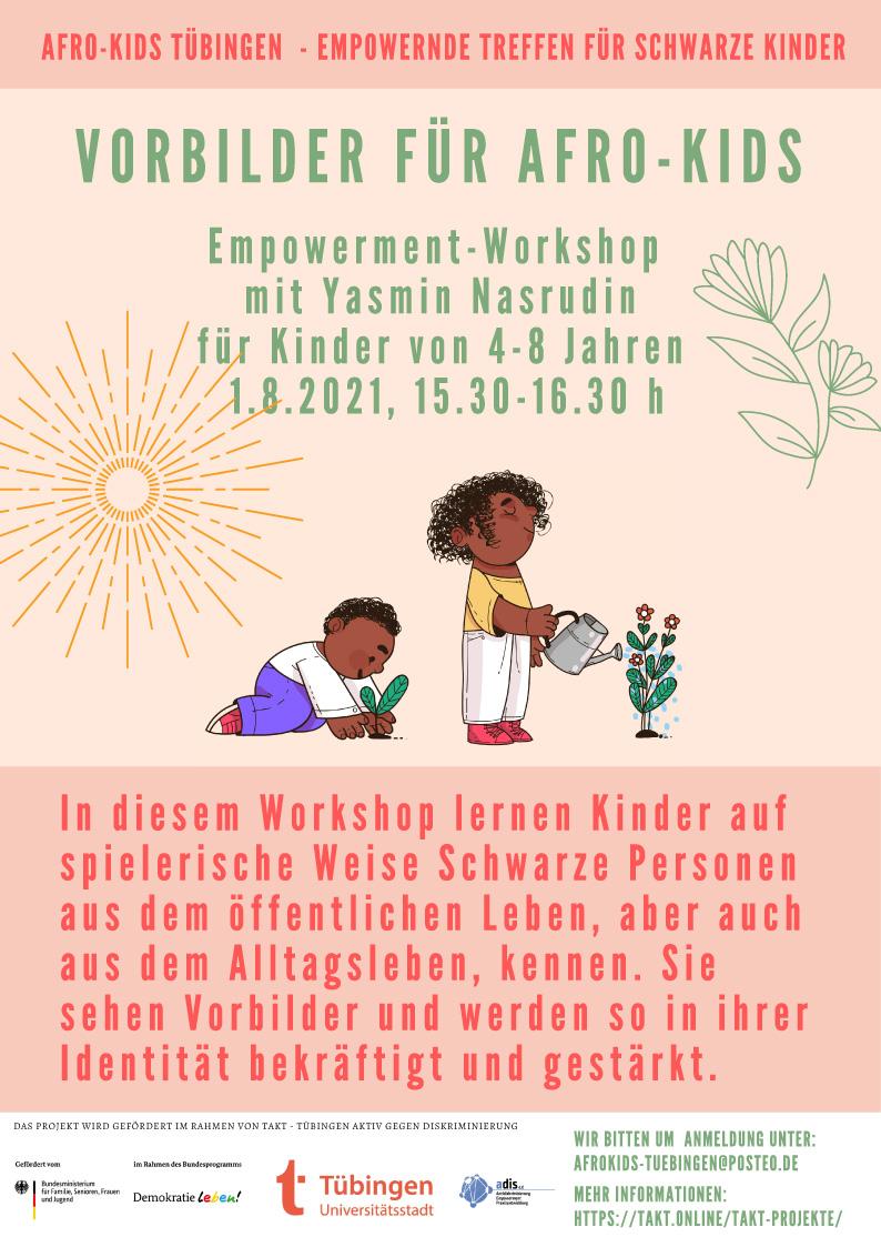 """Empowerment-Workshop """"Vorbilder für Afro-Kids"""""""