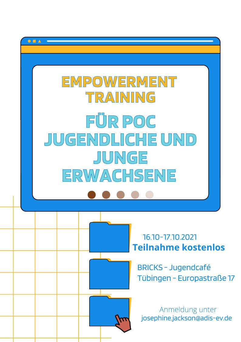 Empowerment Training - Für POC Jugendliche und junge Erwachsene
